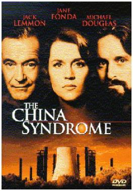 "Figure 8 An advertising poster featuring the movie ""The China Syndrome."""