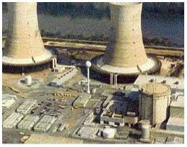 Figure 6 Three Mile Island Nuclear Power Plant Photo Courtesy: Nuclear Regulatory Commission.